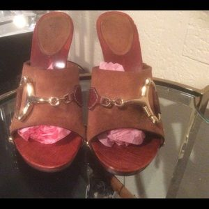 Gucci Horse Mules